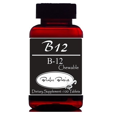 B12 - Chewable - Non-GMO