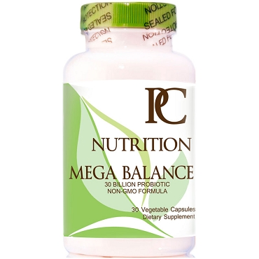Mega-Balance 30 Billion Probiotics - Non-GMO